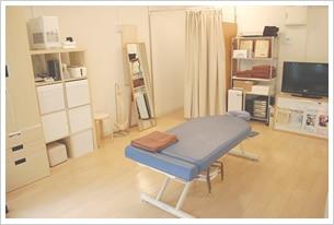 大井町整体院の施術台 肩こり 腰痛 頭痛 坐骨神経痛