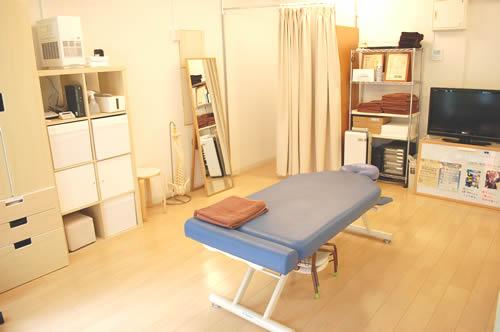 大井町整体院の施術スペース