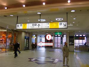 大井町駅改札